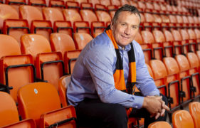 Micky Mellon is getting to know his United players