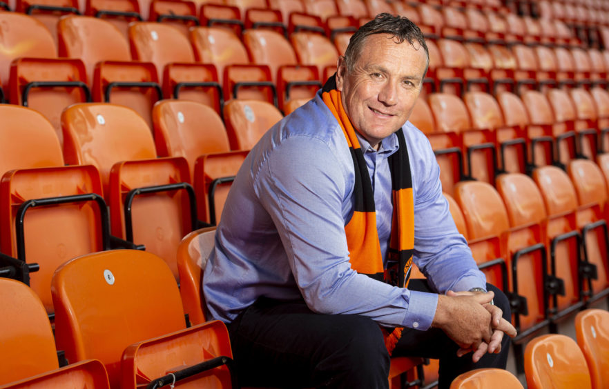 Micky Mellon replaced Robbie Neilson in Tangerines hot seat