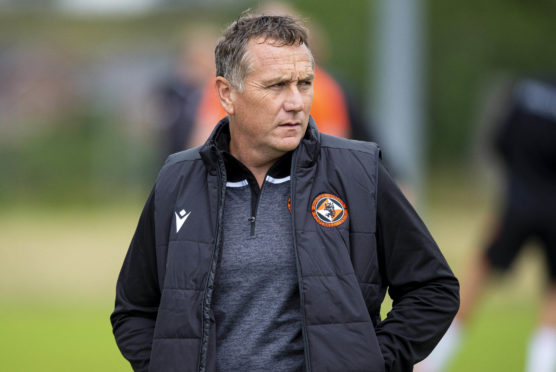 Micky Mellon is trying to make his mark at Dundee United