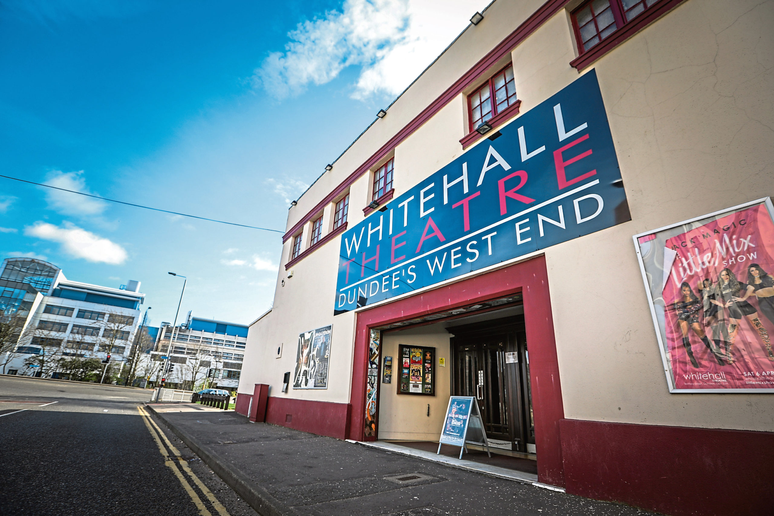 The Whitehall Theatre in Dundee.