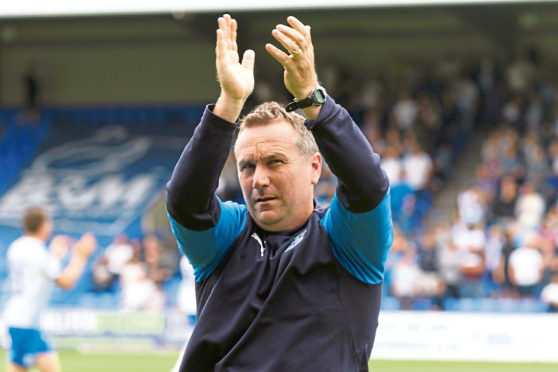Tranmere Rovers fans loved Micky Mellon's communication style.