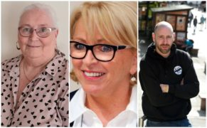 Linda Nicoll, Ann Marie Cocozza and Wray Thomson.