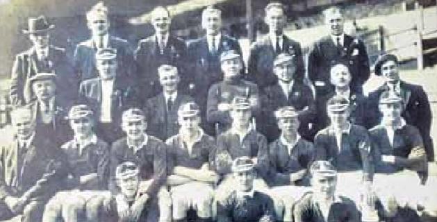 Scottish Junior Team from 1933