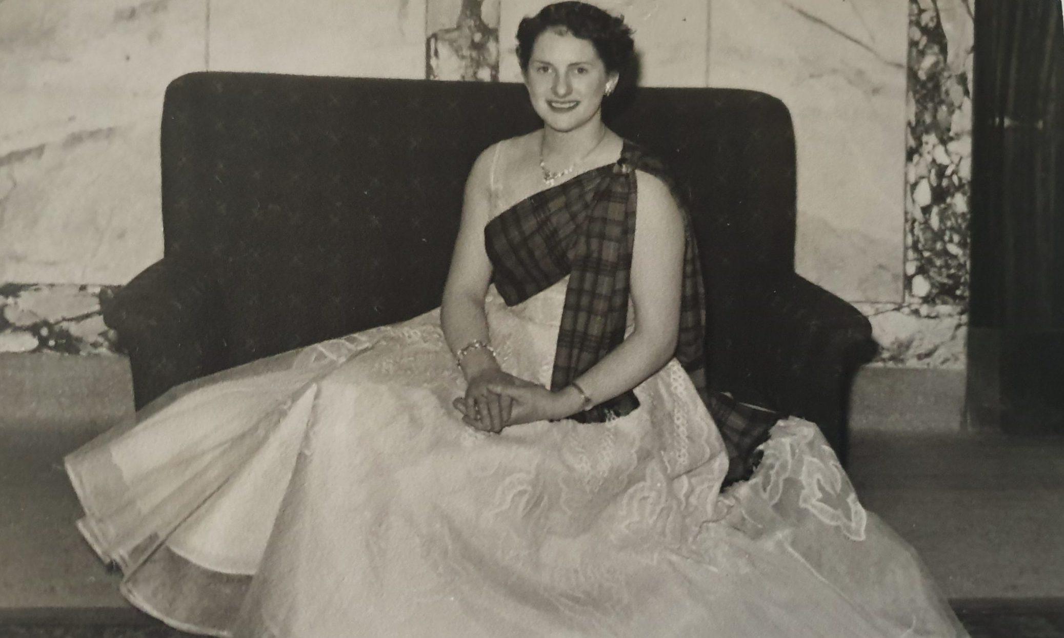 Doreen in 1954.