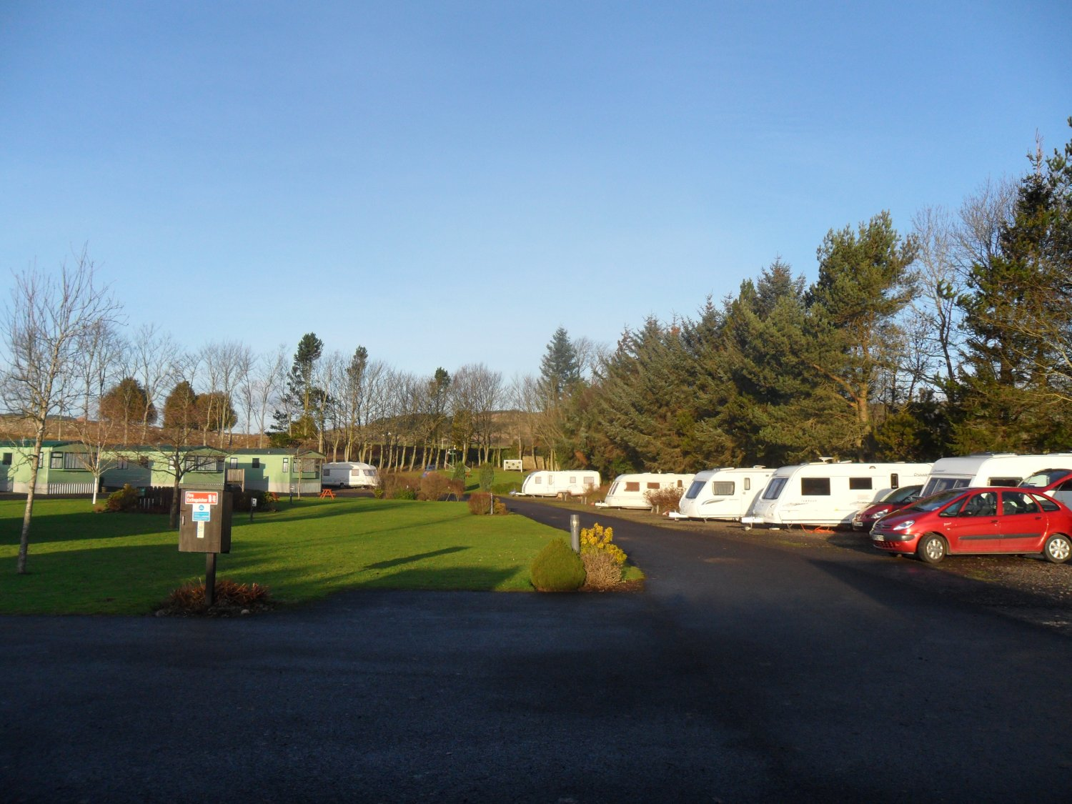 Five Roads Caravan Park is preparing to open tomorrow.