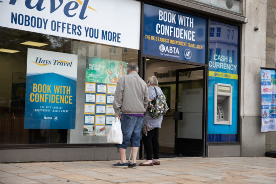 Hays Travel in Dundee