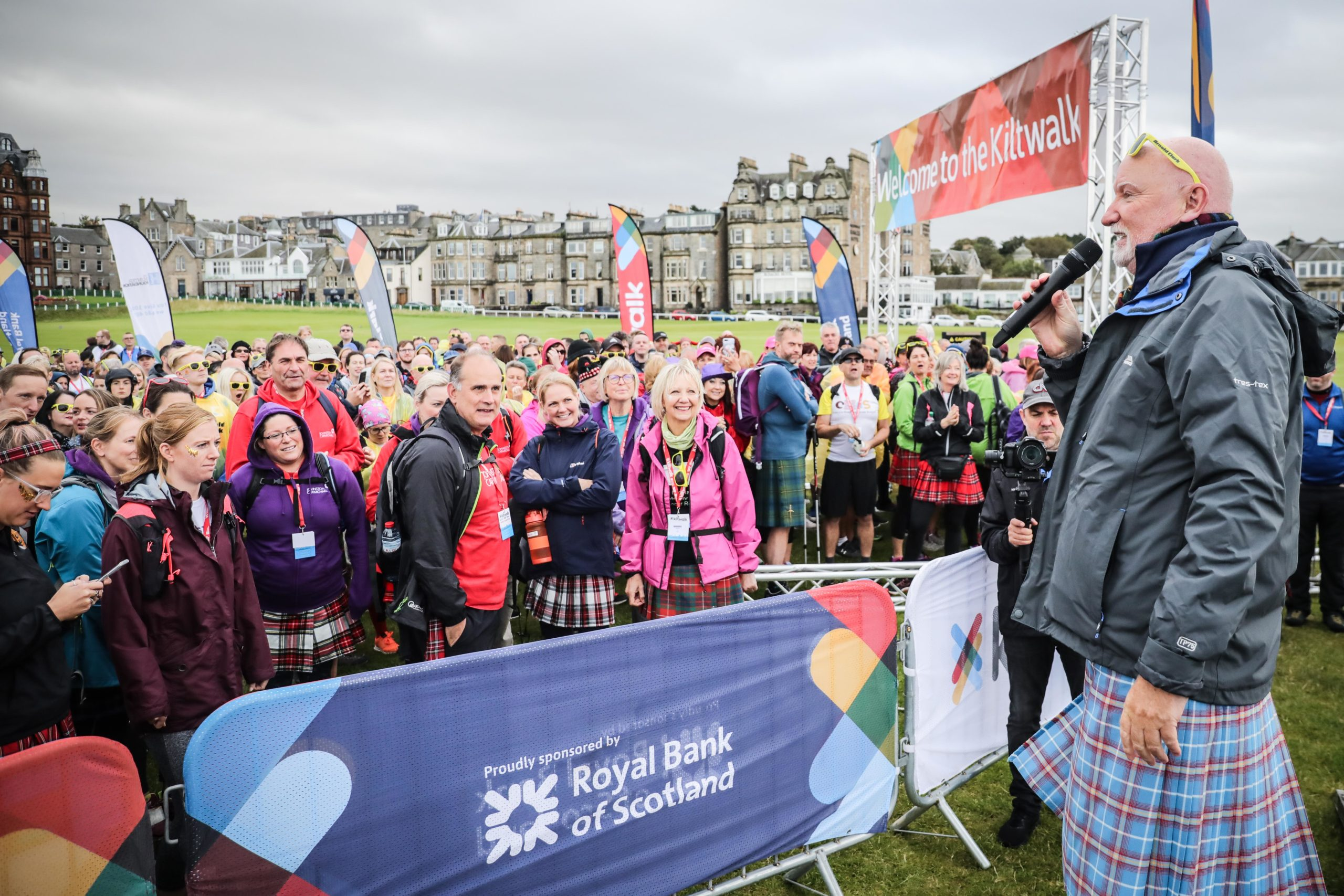 The Dundee Kiltwalk in 2019.