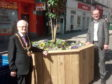 The Lord Provost and Councillor Flynn on Union Street.