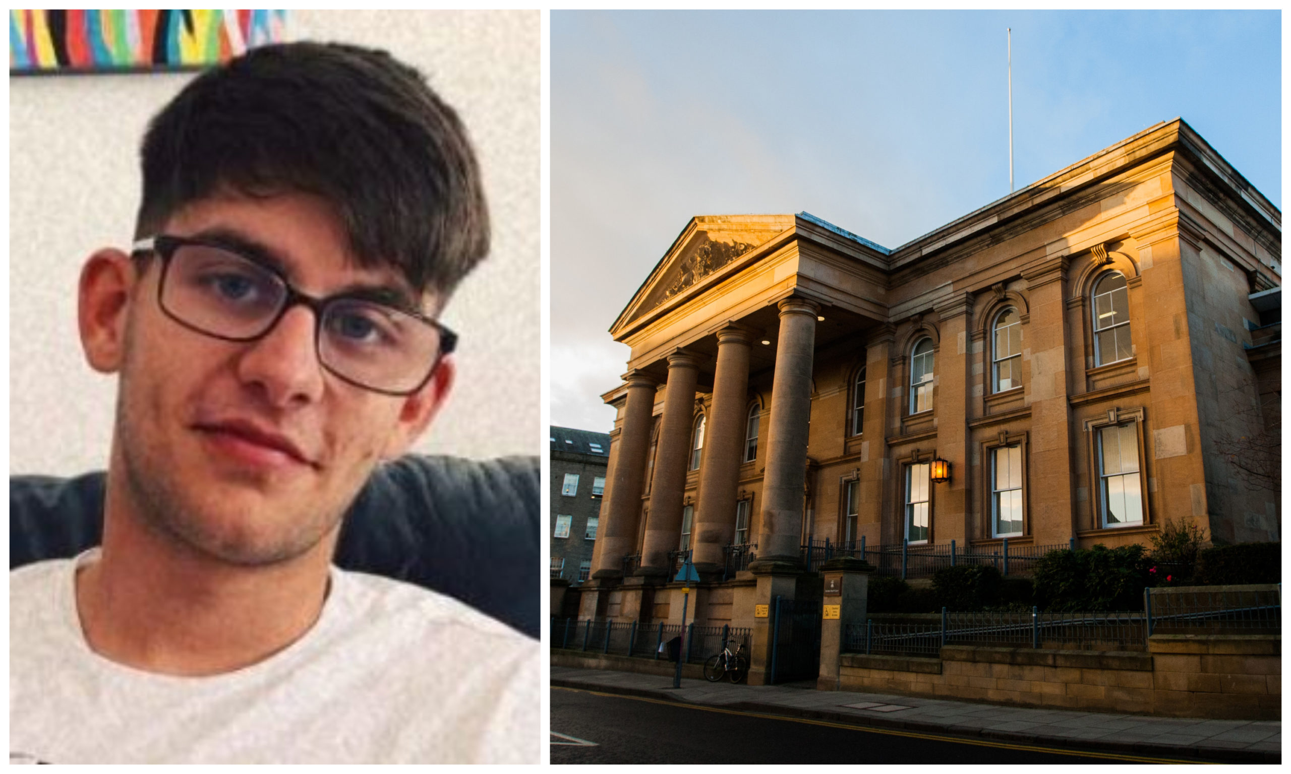 Nomanksy pleaded guilty to assaulting the officer during the incident in Fintry last year, when he appeared at Dundee Sheriff Court.