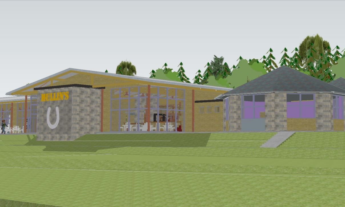An artist's impression of how some of the development will look.