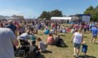 Busy crowds at Broughty Ferry Gala Day in 2018.