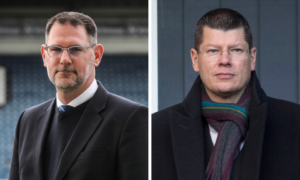 Dundee chief John Nelms and SPFL's Neil Doncaster could be called to give evidence if Hearts and Partick Thistle's case against relegation is heard in court