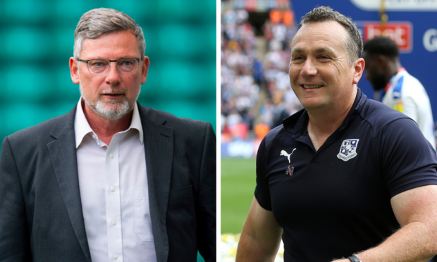 Craig Levein was in Hearts youth setup with Micky Mellon