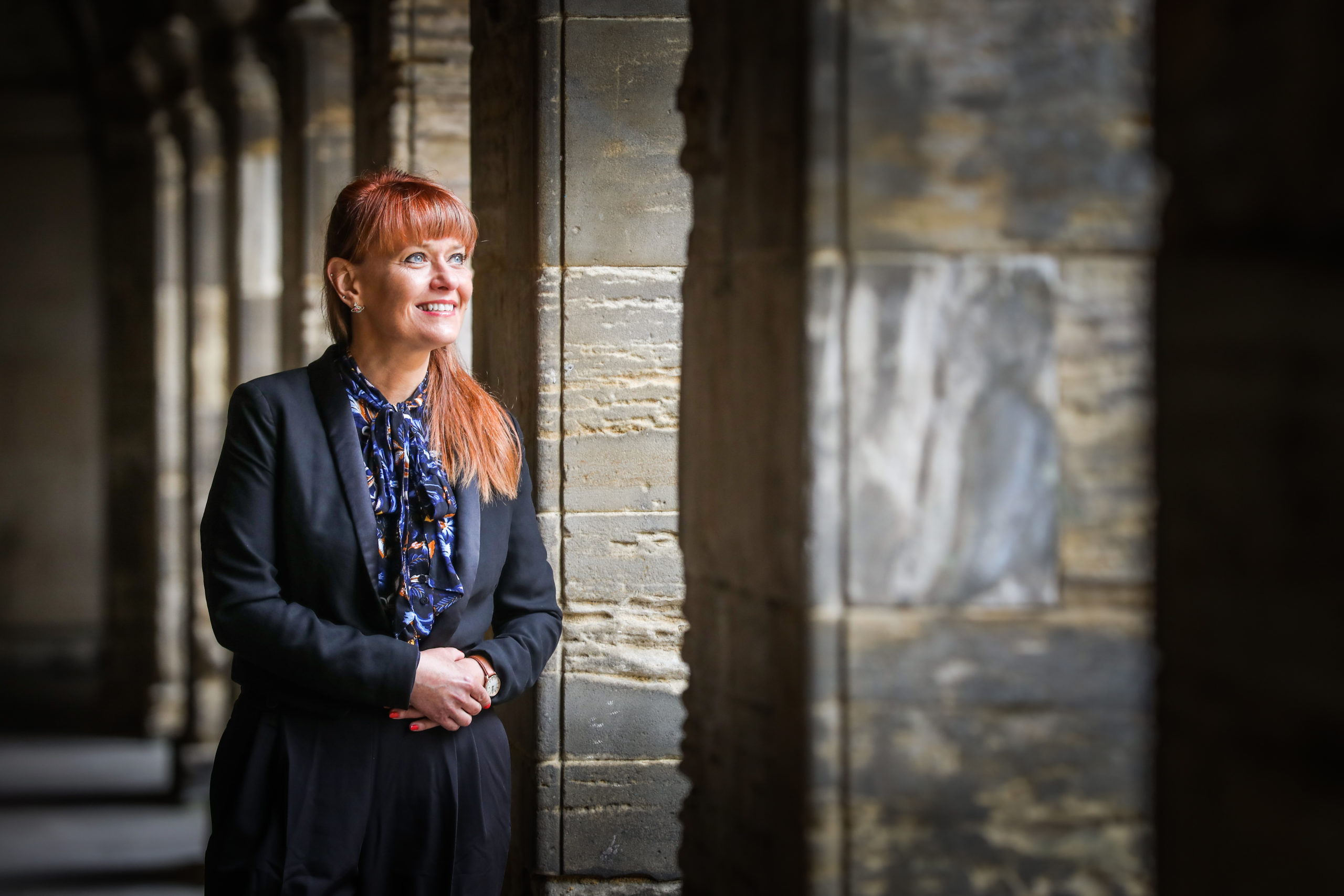 New rector Avril McNeill will lead Madras College from historic to the modern as it moves from its campus at South Street.