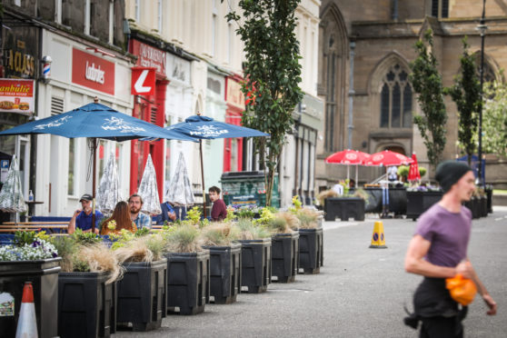 Union Street, Dundee, became pedestrianised earlier this year. Photo by Mhairi Edwards/DCT Media.