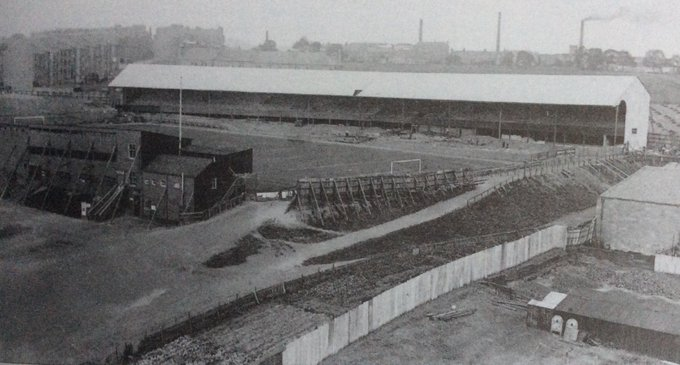 Dens Park pictured in 1921.