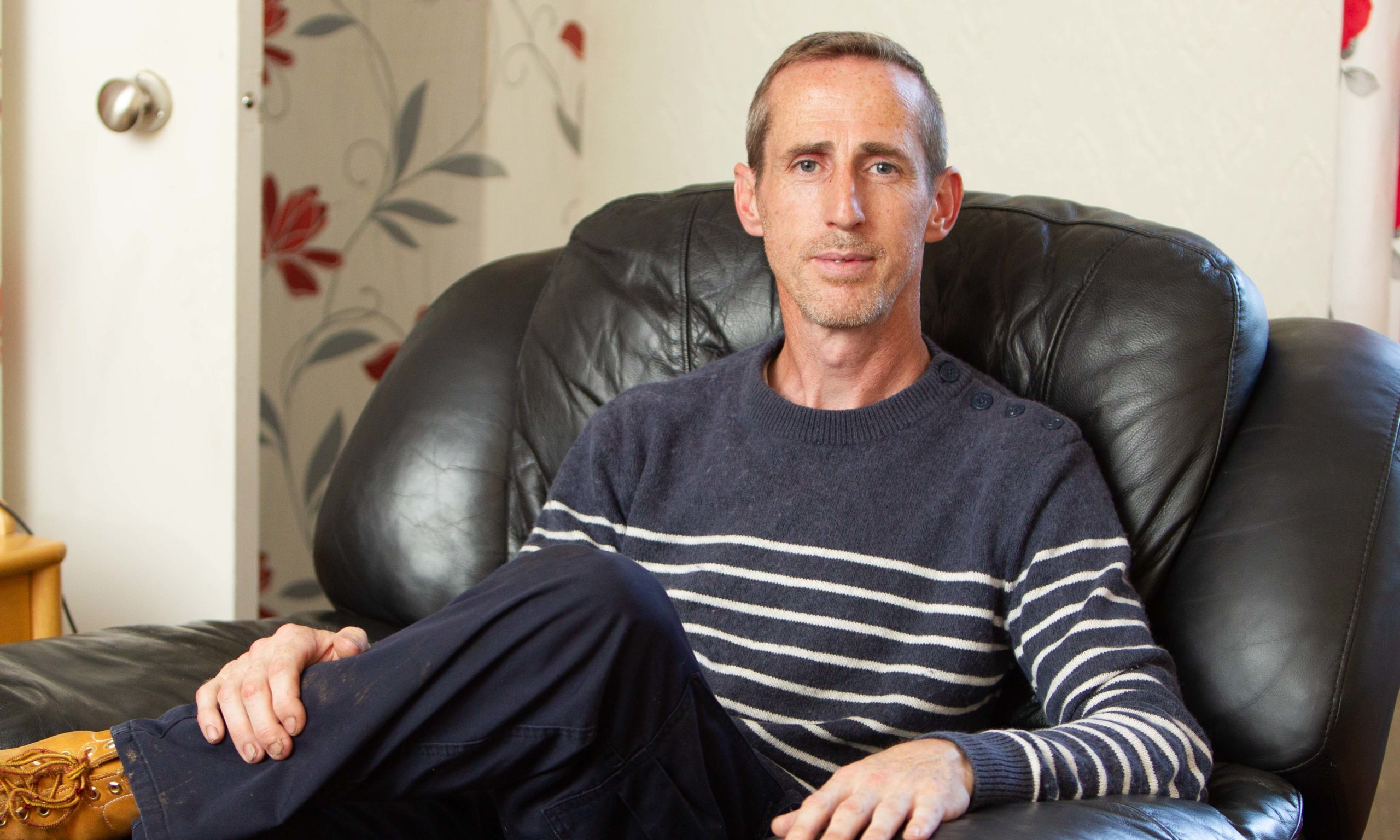 Kenny Muirhead who has been sacked from Hermes after 13 years with the delivery firm.