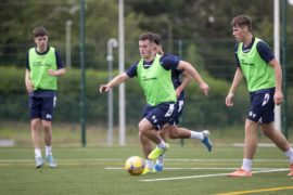 Disinfectant, thermometers and protocols but no Charlie Adam as Dundee return for pre-season training