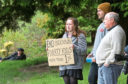 Anti-lockdown demonstrations were held in Perth and Dundee over the weekend