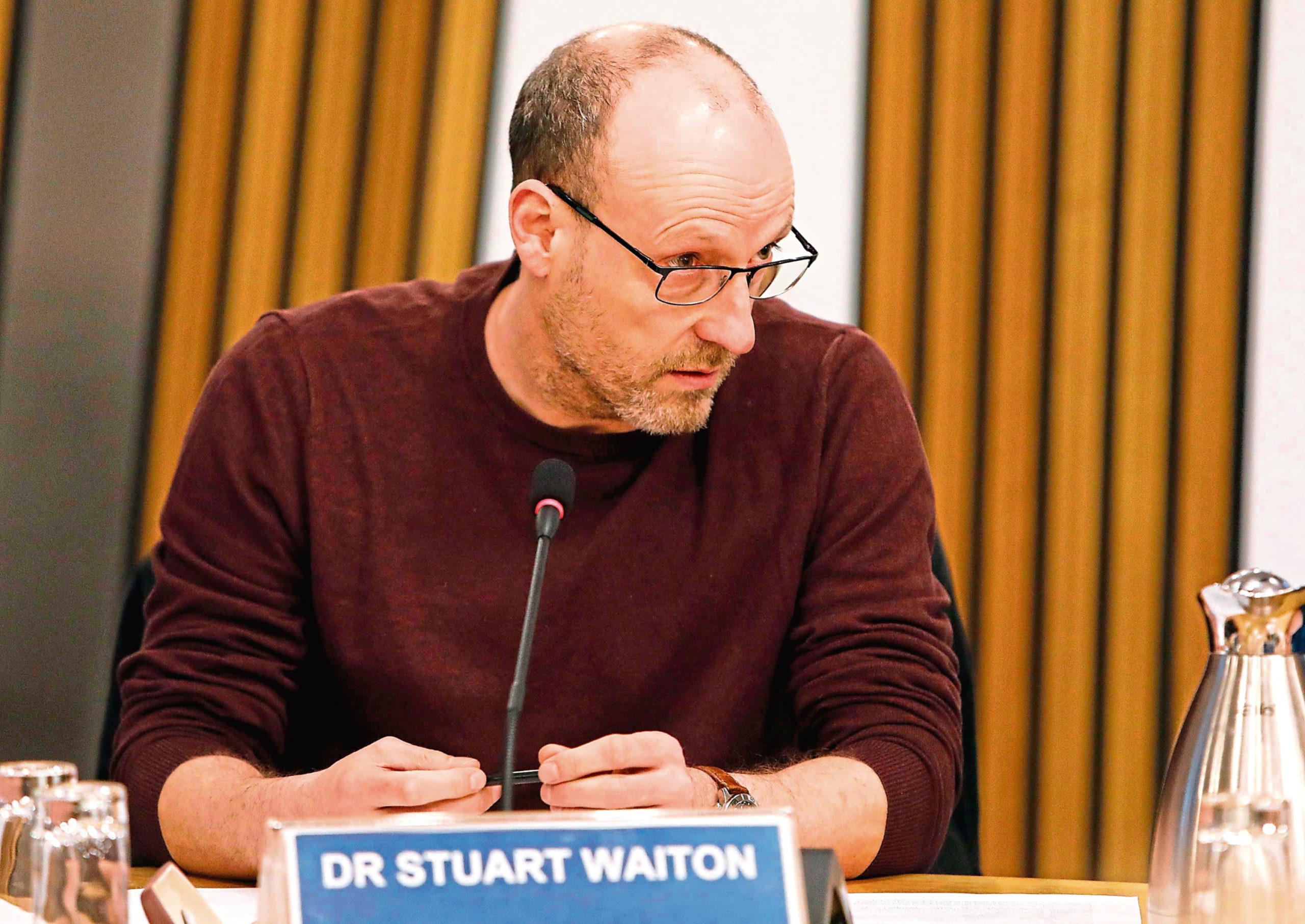 Dr Stuart Waiton.