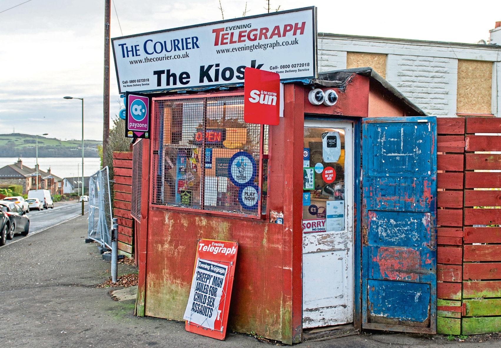 The Kiosk in 2019.