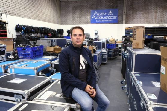 Paul Smith, director of Apex Acoustics.