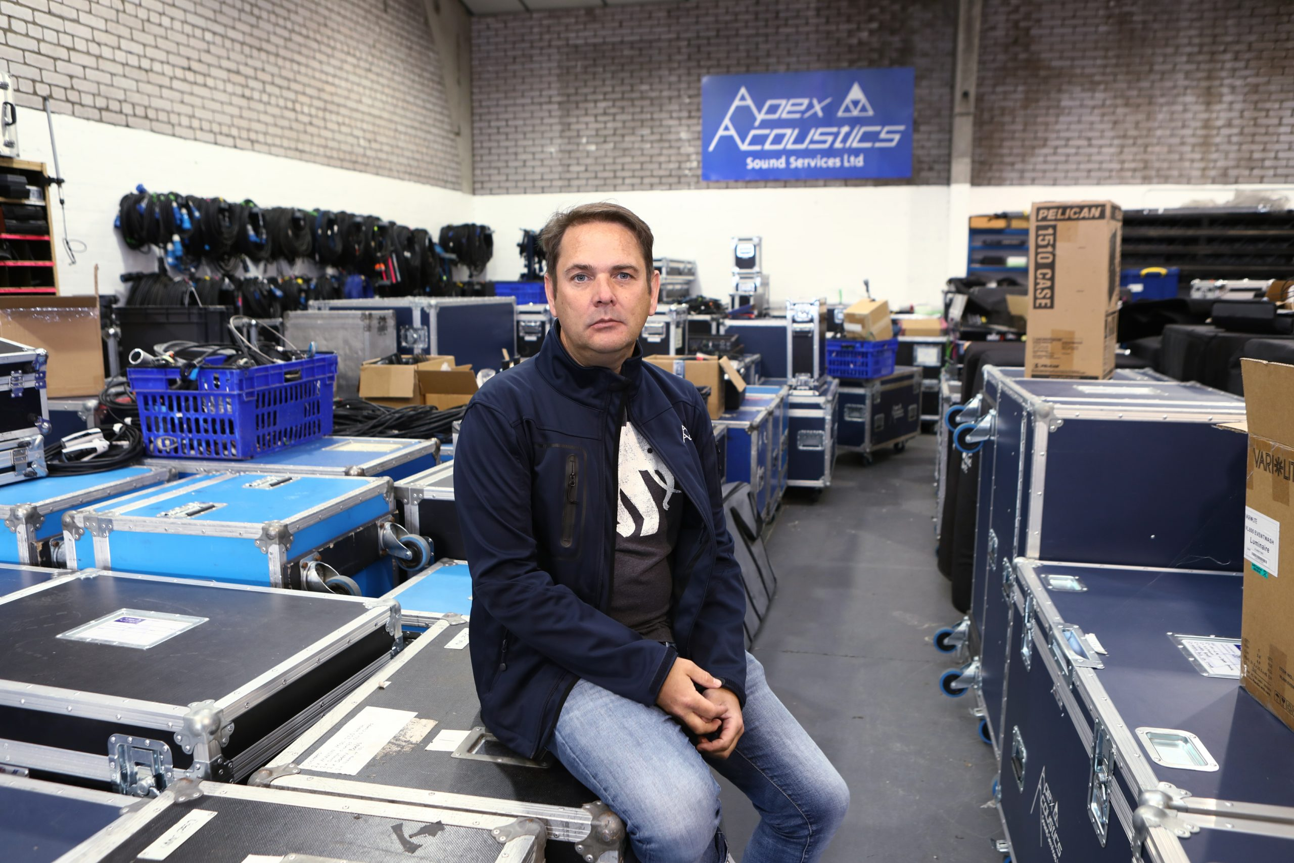 Paul Smith, director of Apex Acoustics.