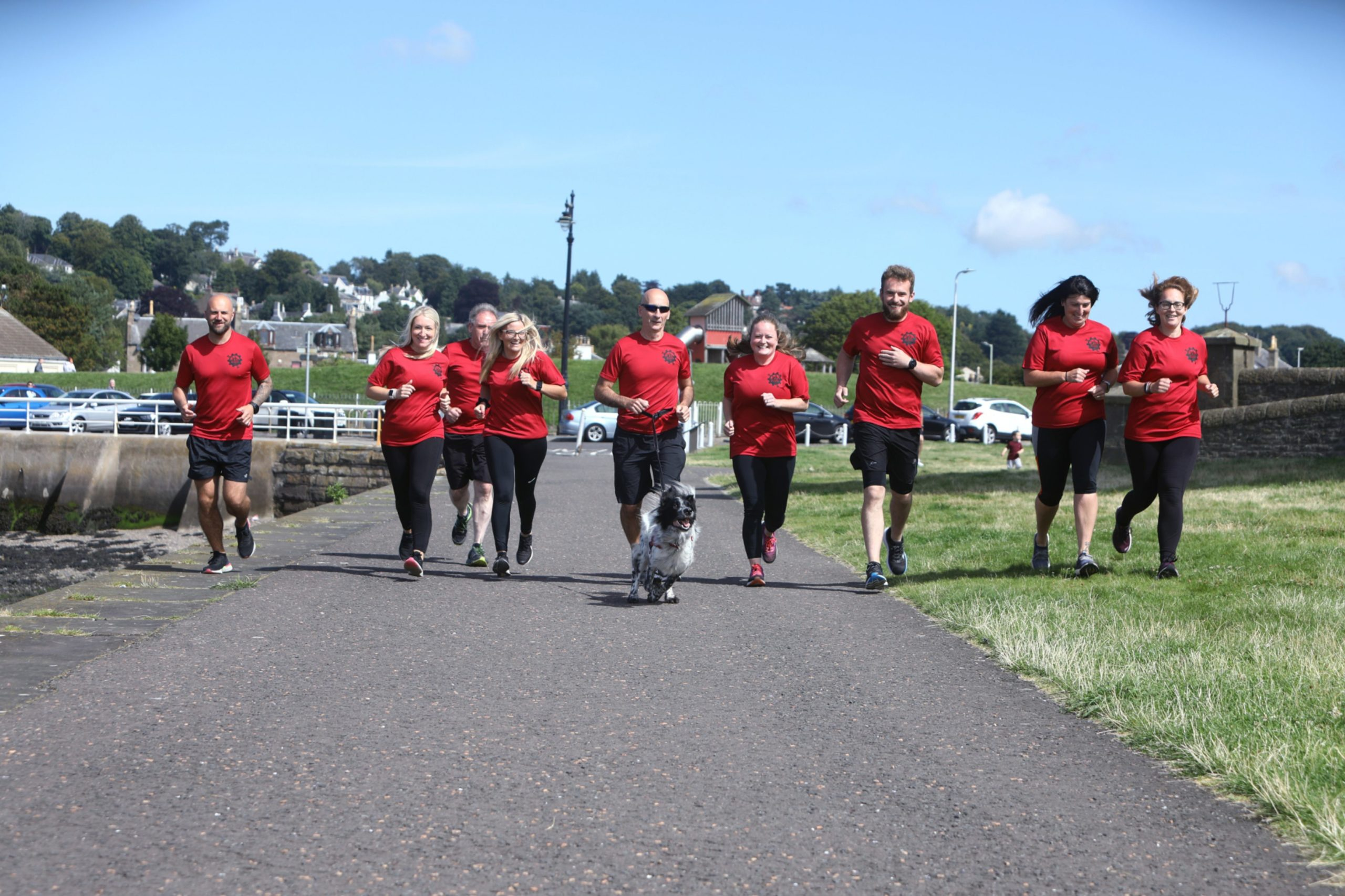Some of the group who completed the 72 hour run