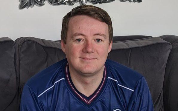 Dundee fan Daniel Smith