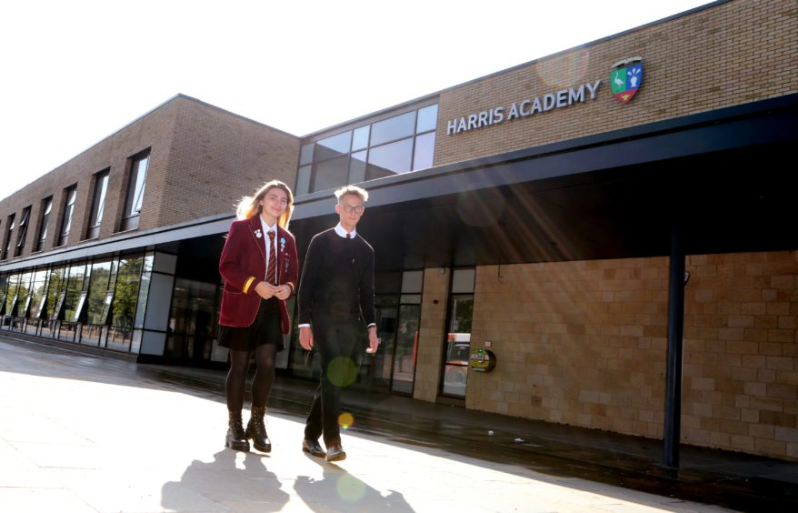 Back to school at Harris Academy