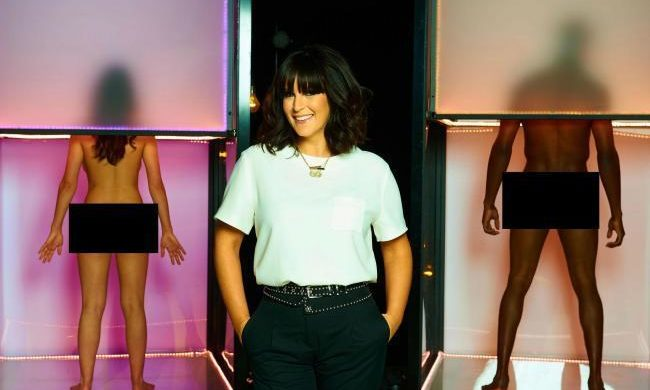 Anna Richardson, host of Channel 4 TV show Naked Attraction