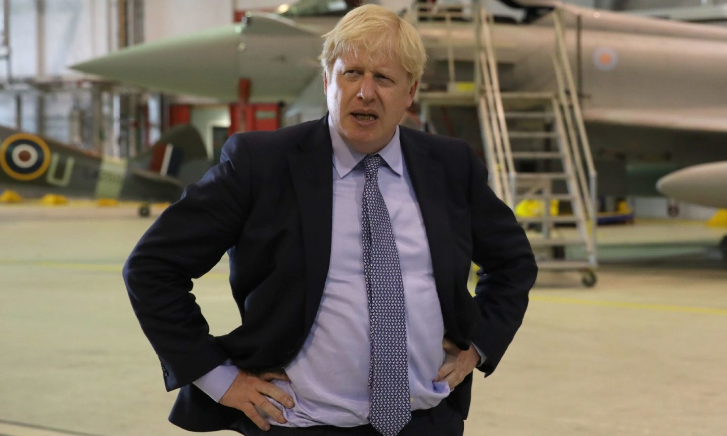 Prime Minister Boris Johnson is on holiday in Scotland.