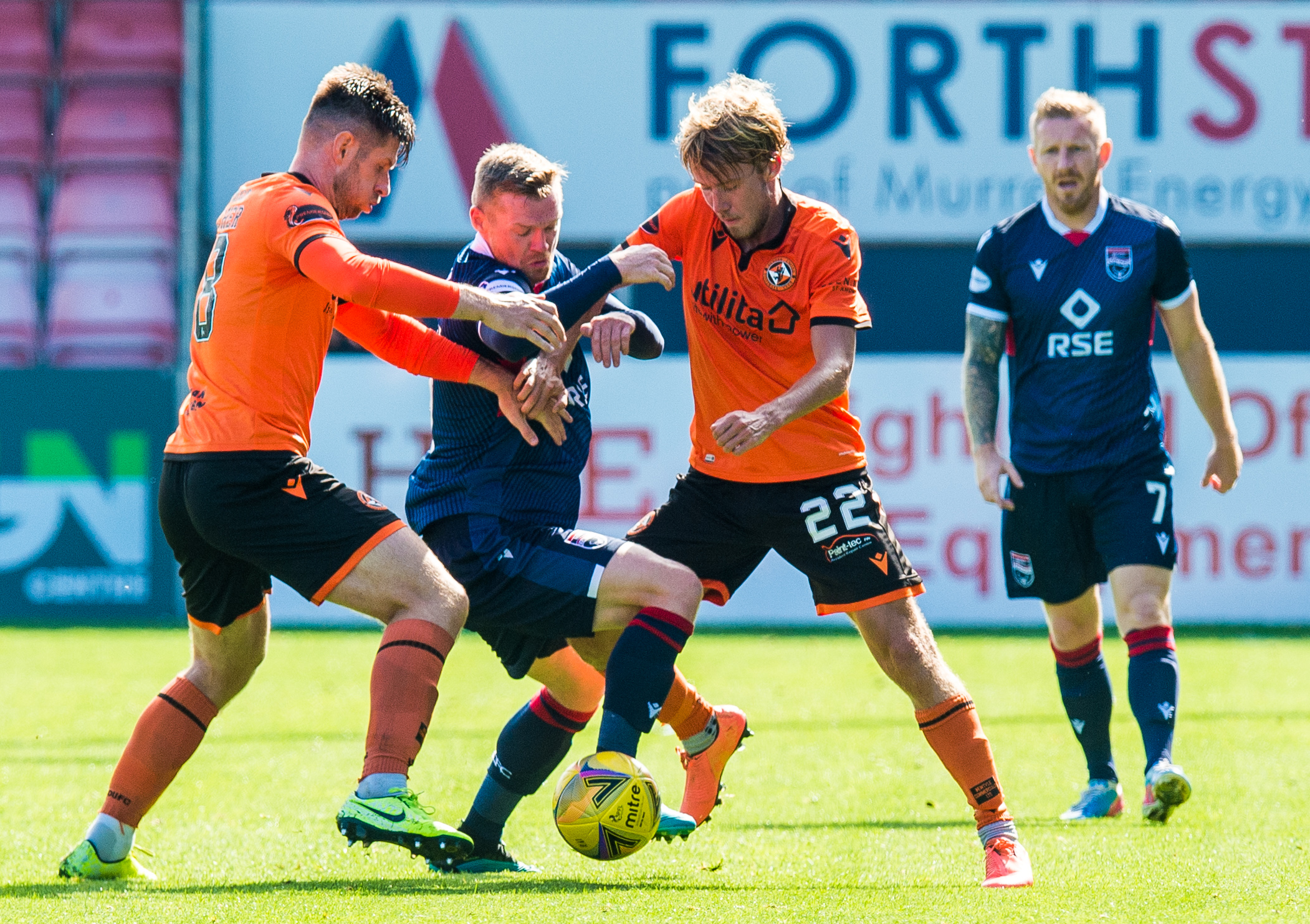 Kieran Freeman made his Dundee United debut against Ross County earlier this month.
