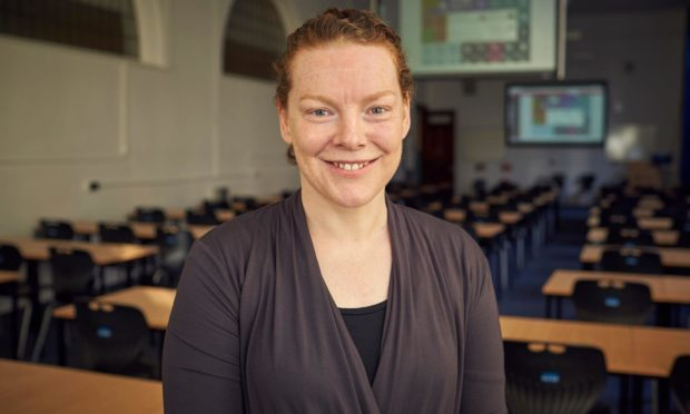 Professor Ruth Falconer, Head of Division of Games Technology and Mathematics at Abertay University.