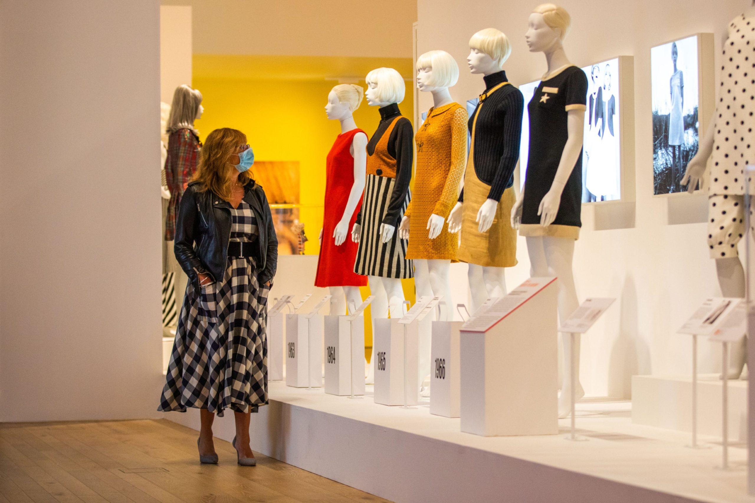 Mary Quant exhibition V&A
