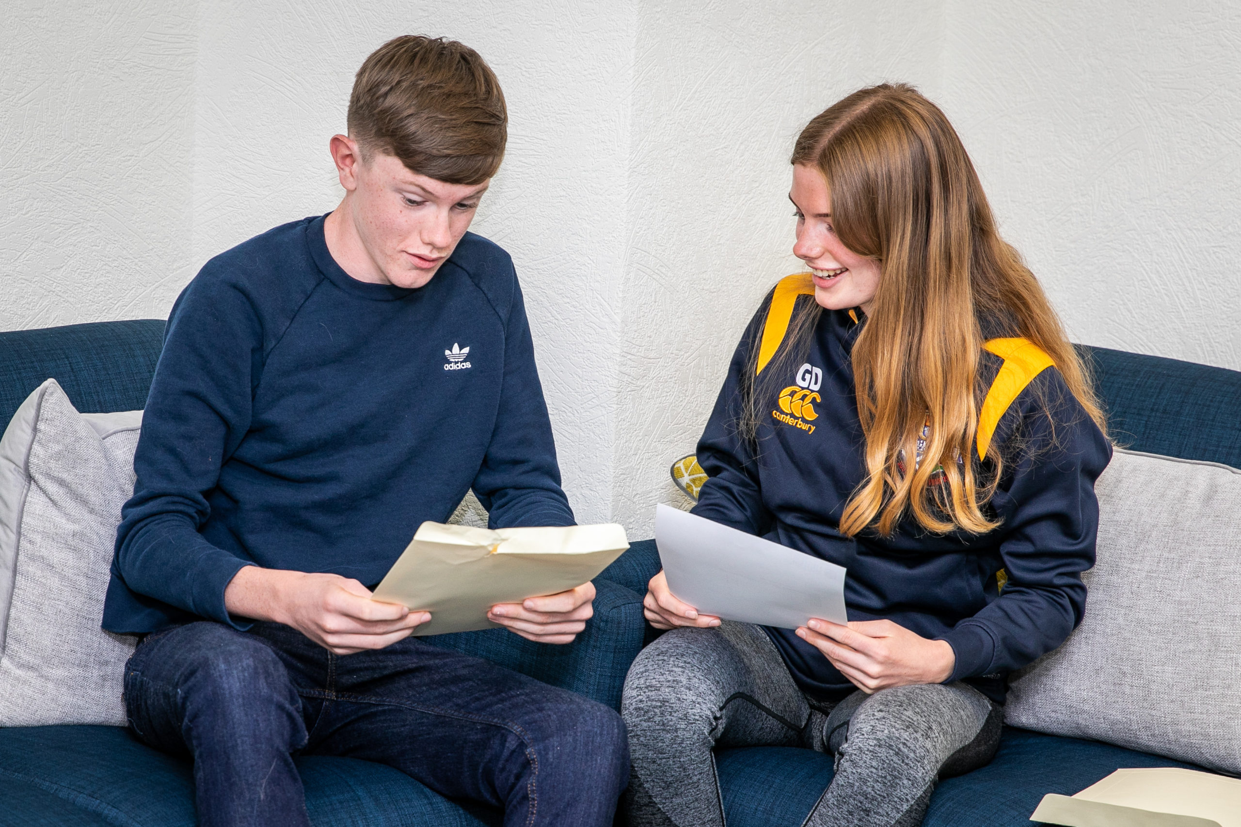 Pupils received their results in a year like no other.