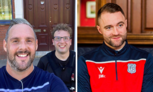 Dundee boss James McPake has taken part in an epic fundraising trek organised by Dark Blues fan who wanted to play part in helping club through cash crisis