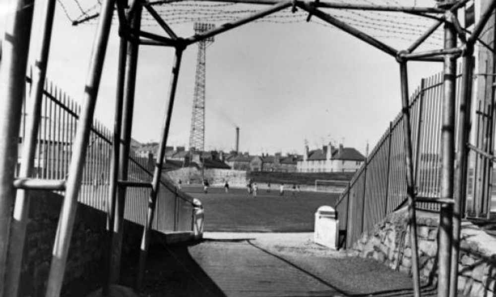 Dens Park in 1964.