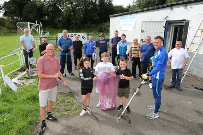 Volunteers have helped repair the Fairfield Community Sports Hub pavilion, which was damaged by water. (Picture: Gareth Jennings/ DCT Media)