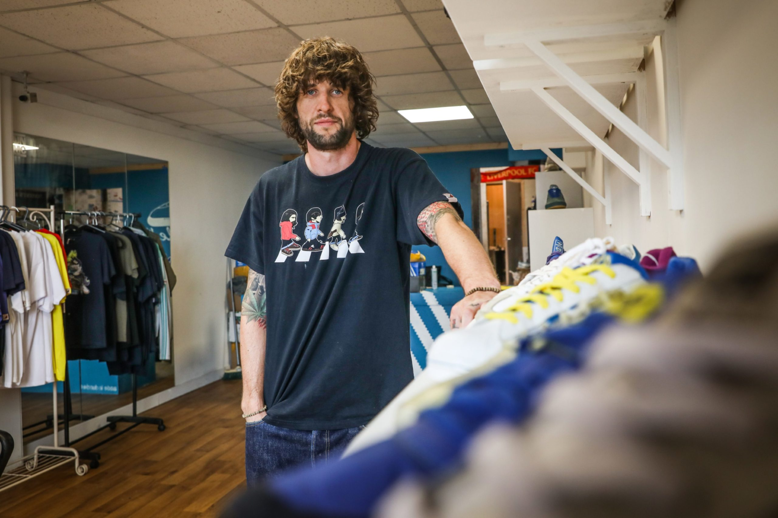 Kris Boyle, the owner of Dundee Sole.
