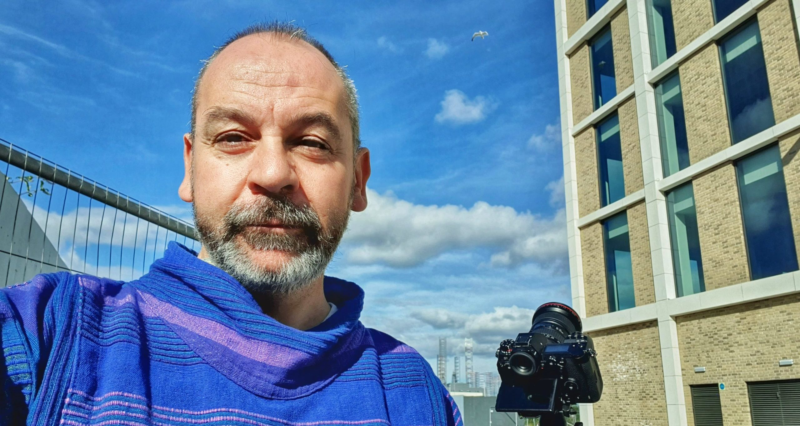 Dylan Drummond is working on a series of short films about Dundee in lockdown.