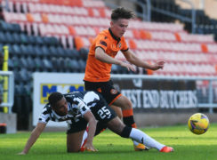 Logan Chalmers' work ethic is as valuable to Dundee United as his trickery, says Tannadice number two Stevie Frail