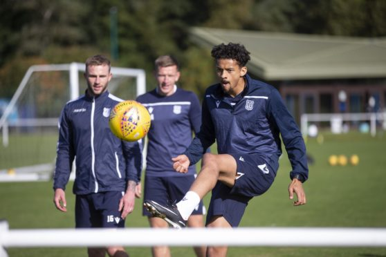 Osman Sow has been training with Dundee.