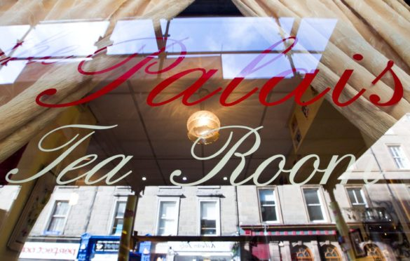 The Palais Tea Room (stock image)