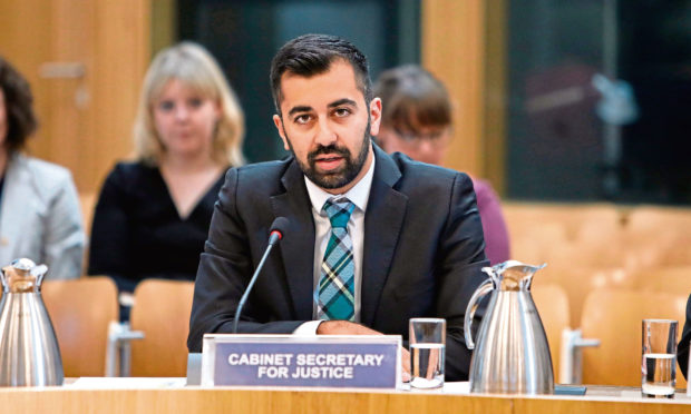 Lord Advocate  Humza Yousaf, Cabinet Secretary for Justice. Picture courtesy of Andrew Cowan/Scottish Parliament.