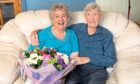 Peter and Mitch Griggs from Invergowrie are celebrating their 75th wedding anniversary.