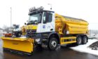 The Polar BEAR Express - a gritter that carries out salt treatments on the A92 between Dundee and Arbroath and was named by the children of Warddykes Primary School in Arbroath.