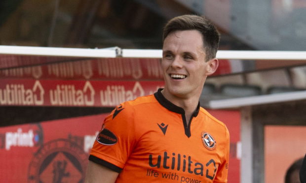 Lawrence Shankland's first Premiership goal was special.