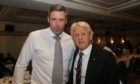 Stephen Kennedy with Gordon Strachan.