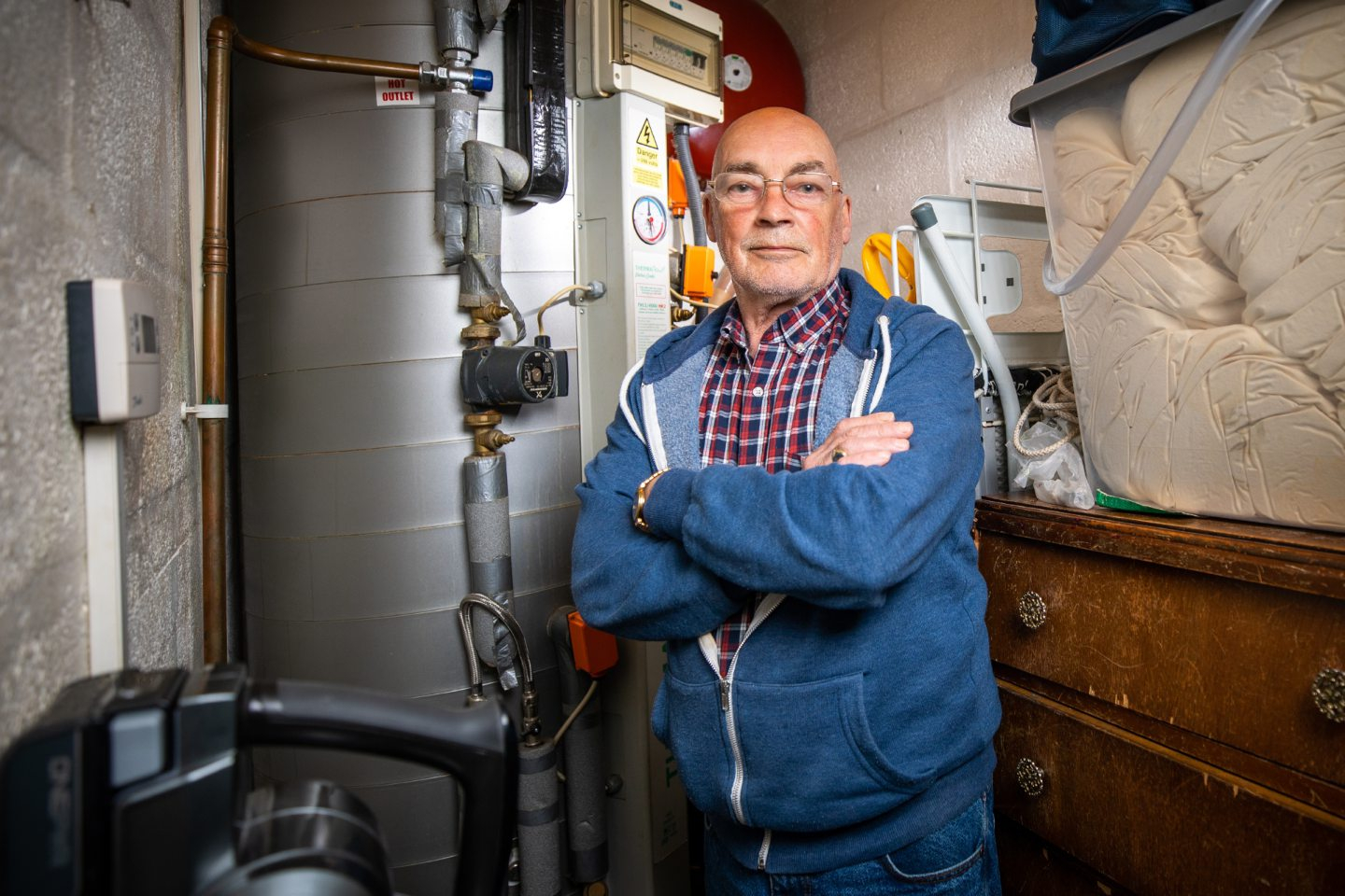 'We will be freezing in the winter': Dundee pensioner's fears over boiler issues - Evening Telegraph